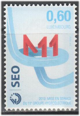 Luxemburgo 2013 ** Yvert Tellier nº 1929 Sociedad electrica Seo/ Turbina