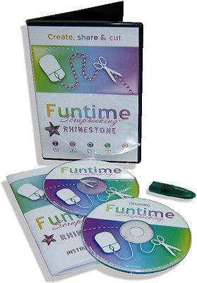 Brand New Software For Die Cuttervinyl Cutter - Funtime Rhinestone Pro 2014