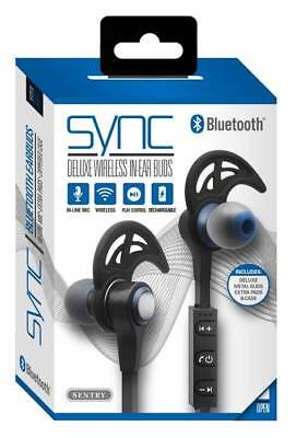 Sentry Sync Bluetooth, Rechargeable Wireless In-Ear Buds with In Line Mic, BT550 for sale  Shipping to India