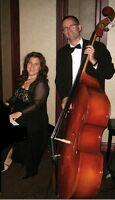 Musiciens duo jazz piano et contrebasse à Montréal