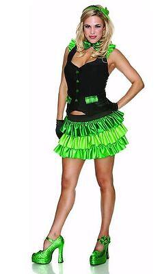 Delicious SexyWear Lucky Charm Irish Costume Halloween St. Patricks Adult Sz XS