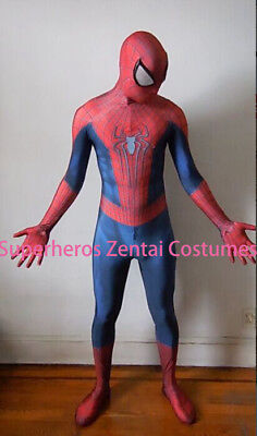 Amazing Spiderman costume TASM2 Zentai Spider-man Cosplay Suit For Adult / Kids - Spider Man 2 Costume For Kids