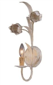 Wall Sconce - Antique White -