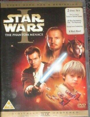 Star Wars - Episode 1 - The Phantom Menace (DVD, 2005, 2-Disc Set )