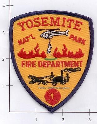 California   Yosemite National Park Ca Fire Dept Patch