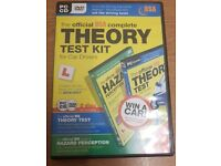 2017 official DSA complete Theory test kit for car drivers PC dvd