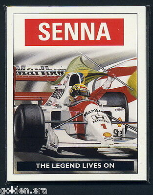 AYRTON SENNA - 'The Legend Lives On' - by Colin Carter