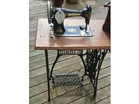 1901 treadle singer sewing machine