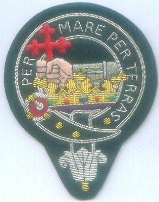 Royal Scottish Scotland Clan Crest McDonald Family Name MacDonald Arms COA Patch