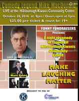 Comic Legend Mike MacDonald Live