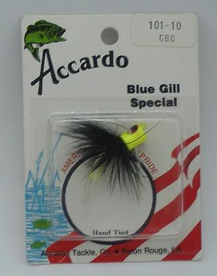 Accardo Cbc101 10  Size 10 Bluegill Special Chartreuse Black Chartreuse 22325