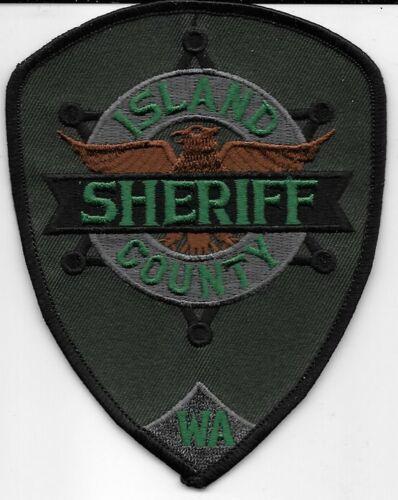 ISLAND COUNTY WASHINGTON WASH WA SHERIFF DEPT SERVICE SUBDUED SWAT IC SO SD
