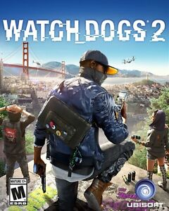 Selling PERFECT condition Watch Dogs 2 for PS4