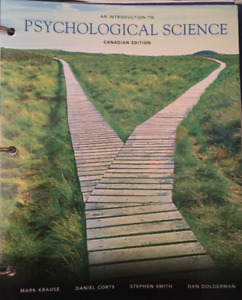 An Introduction to Psychological Science - Canadian Edition