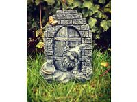 Gnome doors garden ornament