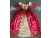 Girls Belle dress 7-8 years