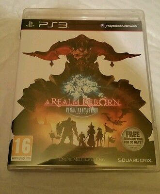 Final Fantasy XIV A Realm Reborn for Sony PlayStation 3 14 UK PAL PS3 Best (Best Final Fantasy For Ps3)