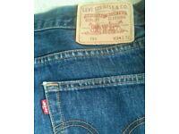 Levi Jeans 34w 32l