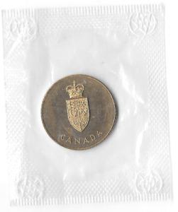 Canadian Centennial Medallion from 1967 Still Sealed