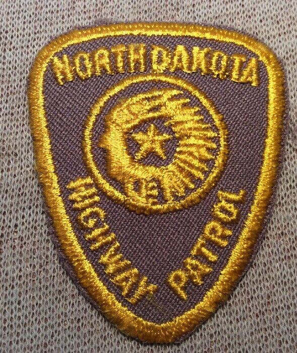 ND North Dakota Highway Patrol Patch (Hat Sz)
