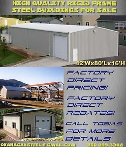 Steel Buildings on Special for Spring! Save up to 30%