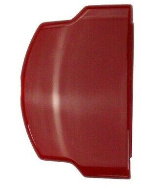 Recambio Nuevo Rojo Batería Puerta Carcasa Trasera Para sony Psp Slim 2000...