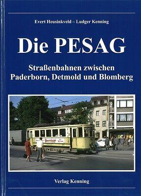 Heusinkveld: Die PESAG, Straßenbahnen zwischen Paerborn... Handbuch/Bildband