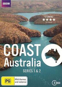 Coast Australia: Series Season 1 & 2 (DVD, 2016, 4-Disc Set), NEW REGION 4