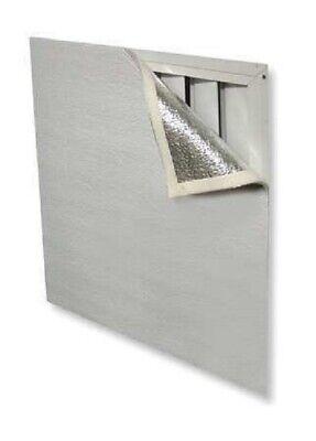 House Attic Ceiling Fan Shutter Cover Seal 3ft X 4ft W Velkro Tape