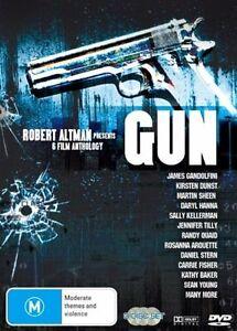 Robert Altman Presents Gun DVD Set James Gandolfini - Brand New + FREE POSTAGE