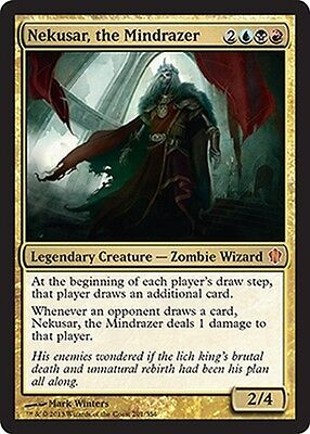 Nekusar, the Mindrazer ~ Commander 2013 ~ MINT/NearMint ~ Magic The Gathering