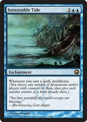 Inexorable Tide ~ Scars of Mirrodin ~ NearMint/Excellent+ ~ Magic MTG