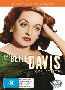 The Bette Davis Collection (DVD, 2012, 5-Disc Set, Region 4, New & Sealed) gb5