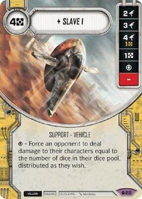 Star Wars Destiny Spirit of the Rebellion 1x Slave (Star Wars Destiny Spirit Of The Rebellion)