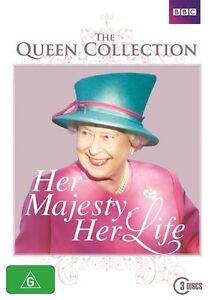 Her Majesty, Her Life - The Queen Collection (DVD, 3-Disc Set) NEW