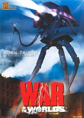 NEW! Pegasus 1/144 War of the Worlds Alien Tripod Model Kit 9005 PGH9005