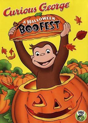 CURIOUS GEORGE: A HALLOWEEN BOO FEST NEW - Curious George Halloween Boo Fest Movie