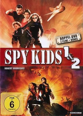 Spy Kids 1 & 2 ** NEUWARE 2 DVD´s !!