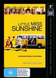 Little Miss Sunshine 2006 DVD NEW & SEALED R4 LIMITED EDITION