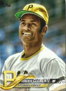 2018 Topps Photo Variations  SP Roberto Clemente Pirates