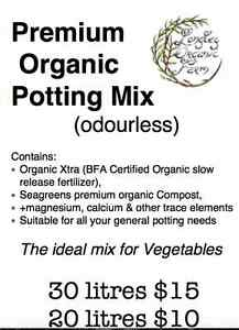 Premium Organic Potting/Vege Mix with C.O.F and more Longley Kingborough Area Preview