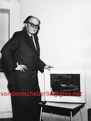 Werner ECKELT: Walter WELLENSTEIN - 1963 - PORTRAIT  des Emil ORLIK-Schülers