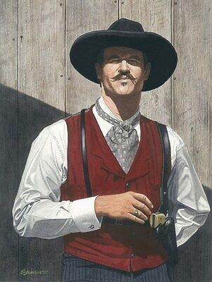 TOMBSTONE VAL KILMER DOC HOLLIDAY ART PRINT