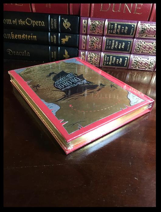 Treasure Island by Stevenson & Illustrated N.C. Wyeth Sealed Leather Hardback For Sale - 5