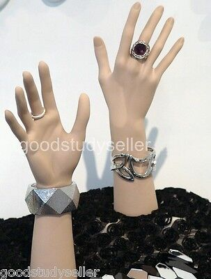 Pvc Mannequin Hand For Watch Rings Gloves Bracelet Jewelry Display Racks Stands