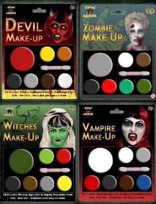 Halloween Fancy Dress Make Up Party Zombie Witch - Halloween Make Up Kits