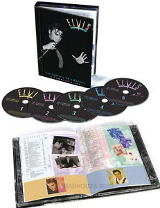 ELVIS PRESLEY CD x 5 The King Of  Rock 'N' Roll Complete 50's Masters BOX SET