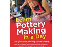 Learn Pottery In A Day on Saturday 19th May