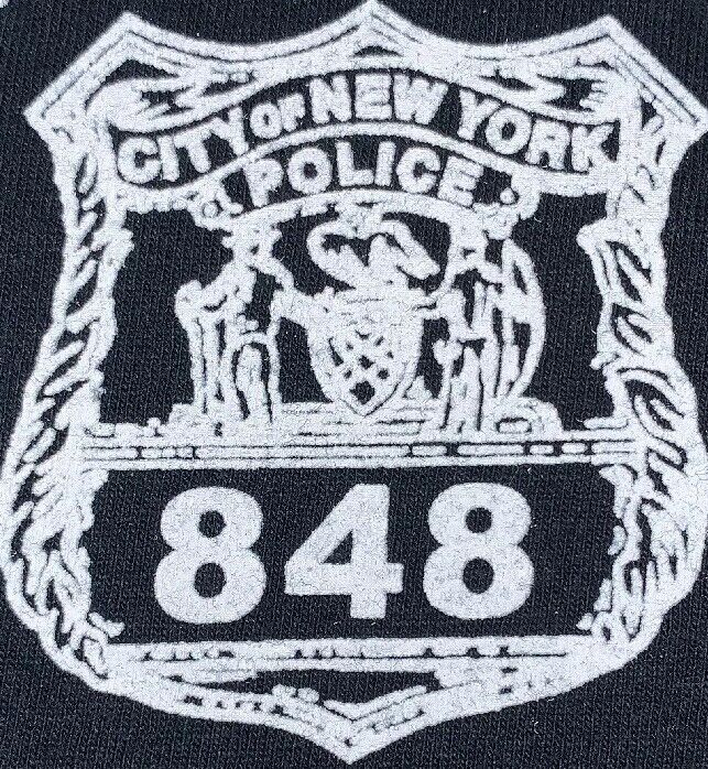 NYPD New York City Police Department NYC T-Shirt Sz L New 83 Pct. Brookyn