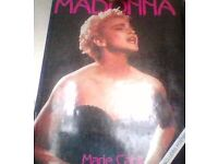 madonna,by marie cahill,hardback book.